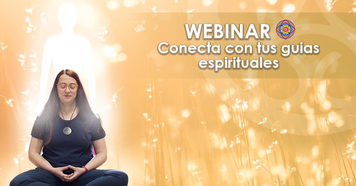 Webinar Conecta con tus guias espirituales