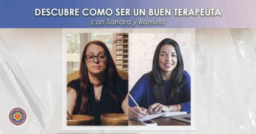 23 Noviembre Workshop Descubre como ser un buen terapeuta con Sandra y Romina