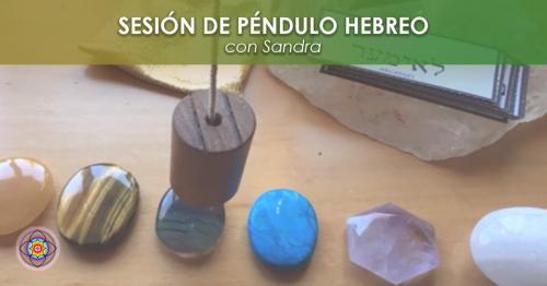Sesión de Péndulo Hebreo Sandra Sogas Kinesiologia Akashica