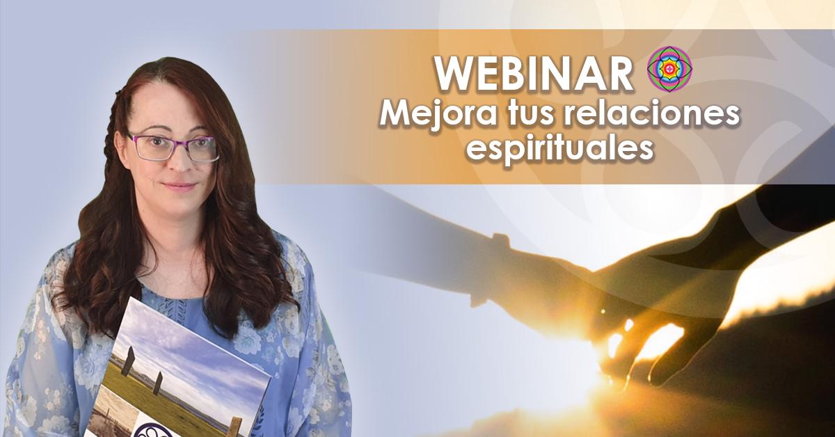 Webinar Gratuito Conecta con tus guías espirituales