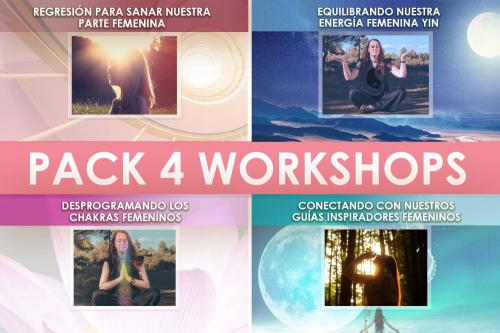 Pack 4 Workshops Marzo 2021 Conectando con la energia Femenina