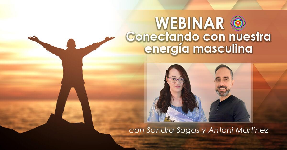 Webinar conectando con nuestra energia masculina con Antoni