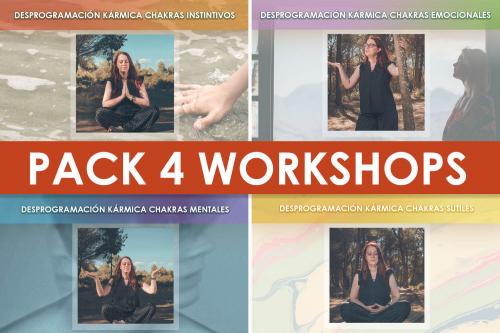 Pack Workshops de Julio Desprogramación Kármica