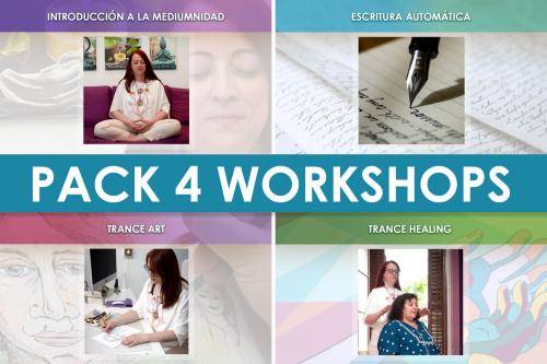 Pack de 4 Workshops Agosto 2021